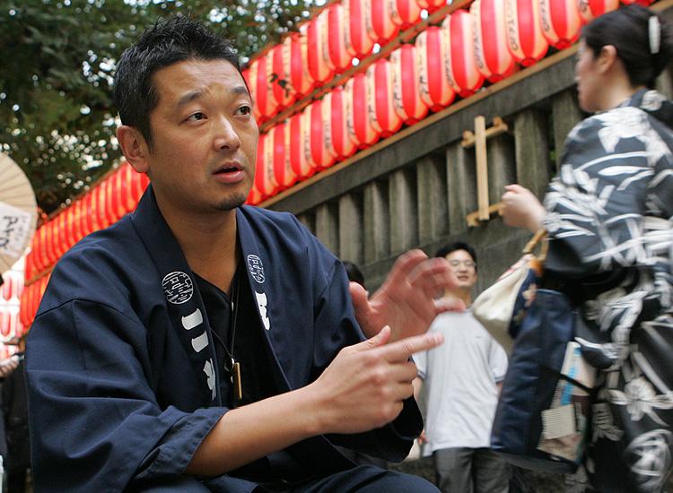 代表取締役 志小田亨の写真