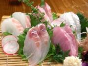北陸地魚刺身盛り