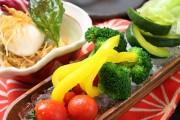 朝採れ『有機野菜』